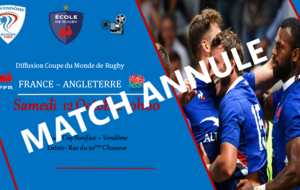 MATCH ANNULE - Retransmission du match  FRANCE - ANGLETERRE